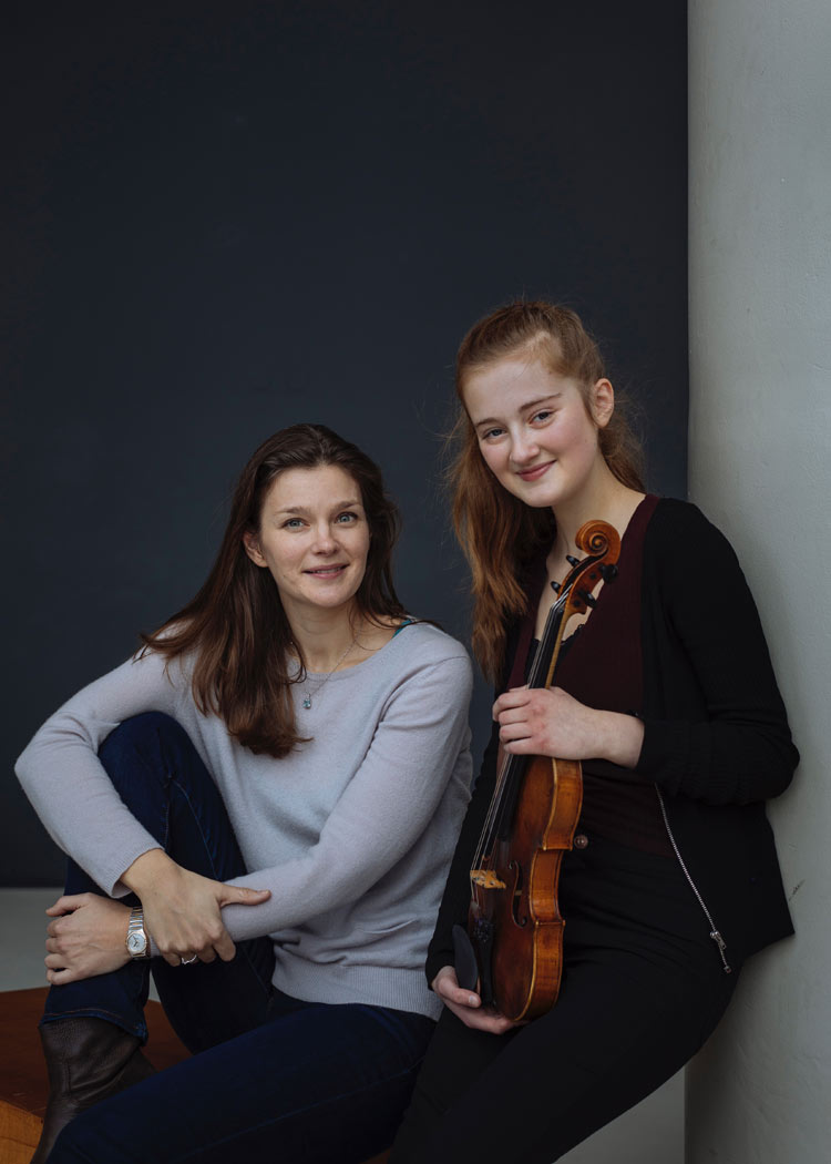 Noa Wildschut Janine Jansen violin NMF