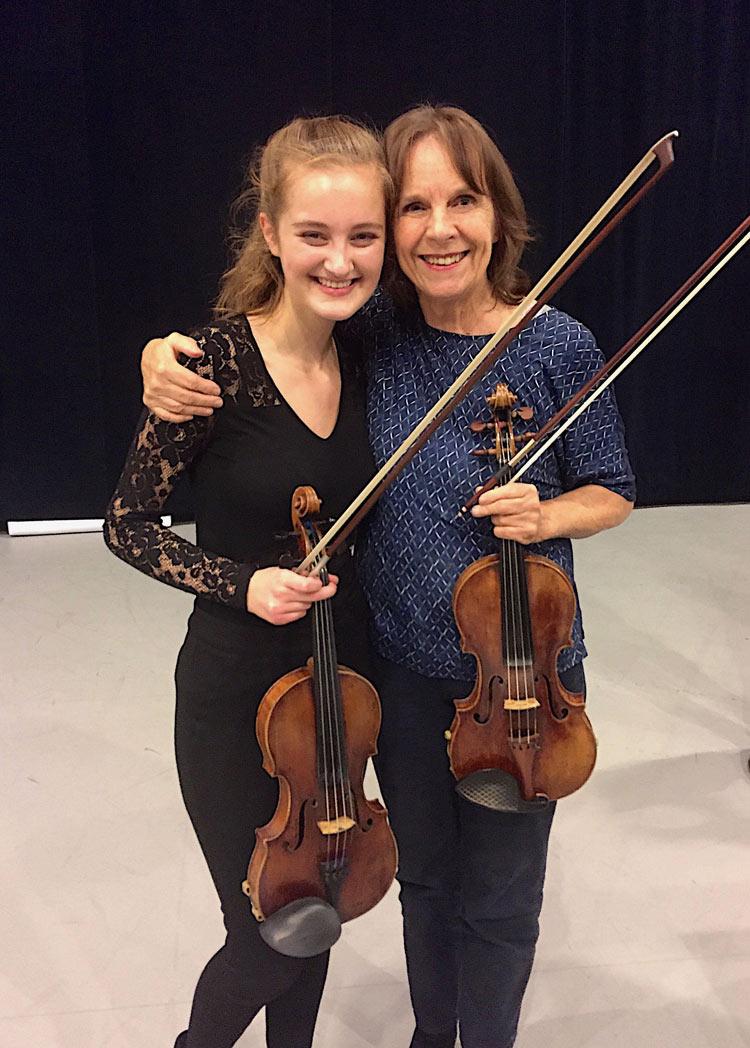 Noa Wildschut violin Vera Beths