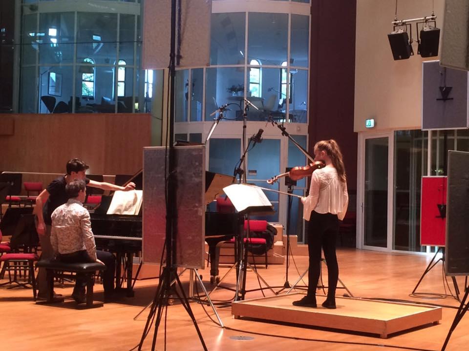 Noa Wildschut Yoram Ish-Hurwitz Mozart Violin Sonata