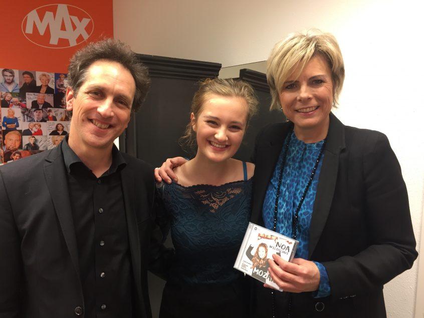 With princess Laurentien and Yoram Ish-Hurwitz